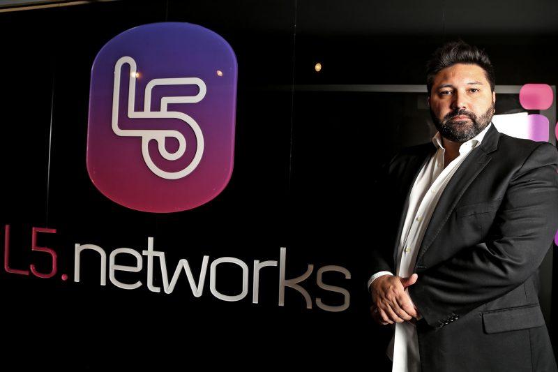 Paulo Chabbouh, CEO da L5 Networks. Foto: Andris Bovo