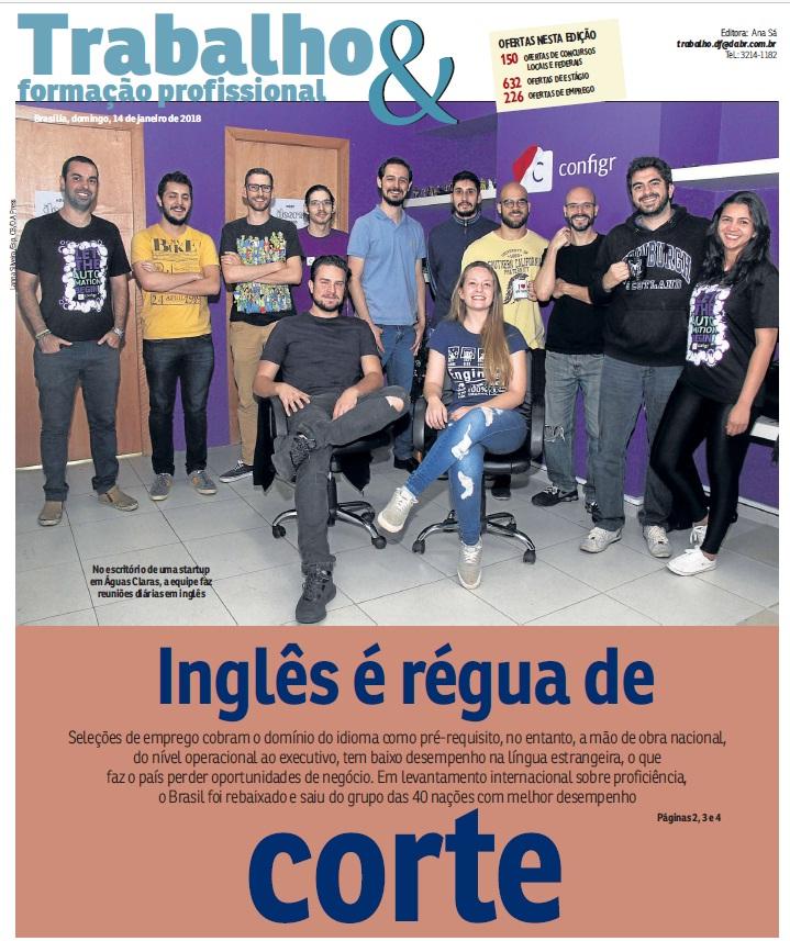 O inglês da Best View dá o tom no Correio Braziliense