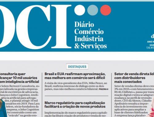 Akmos é destaque de capa no Jornal DCI