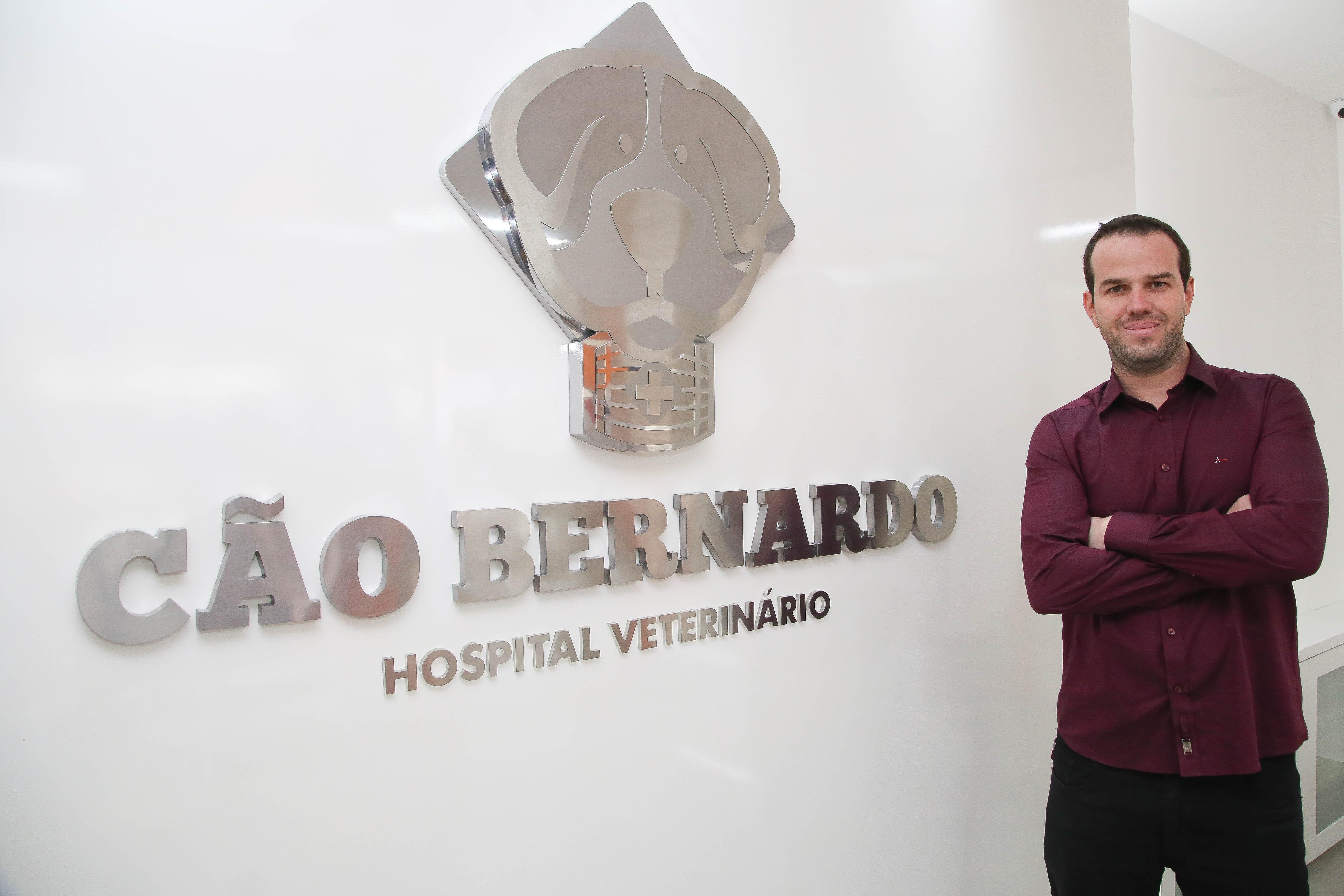 Cão Bernardo é destaque no ABC Agora