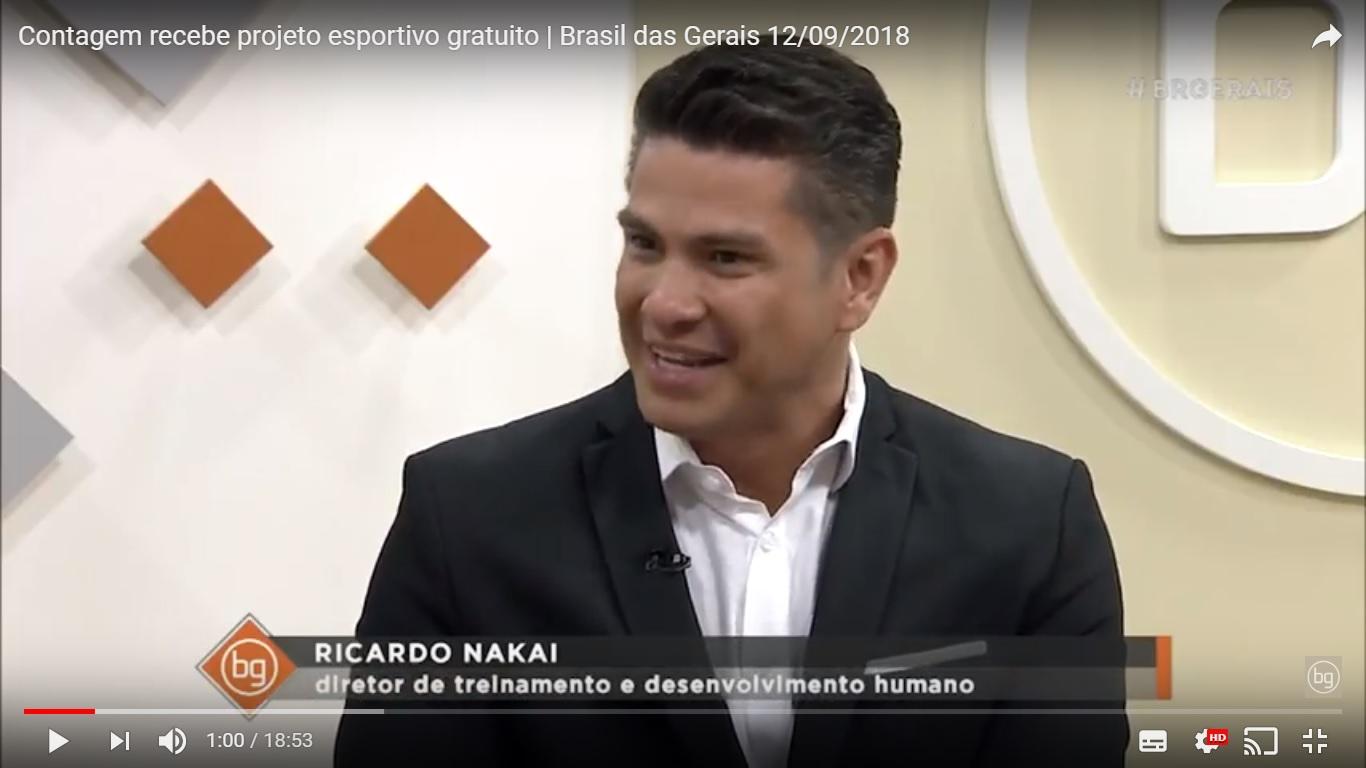 Akmos no programa Brasil das Gerais, da Rede Minas