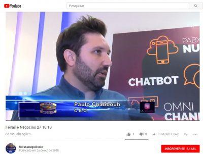 Feiras e Negocios - Futurecom2018