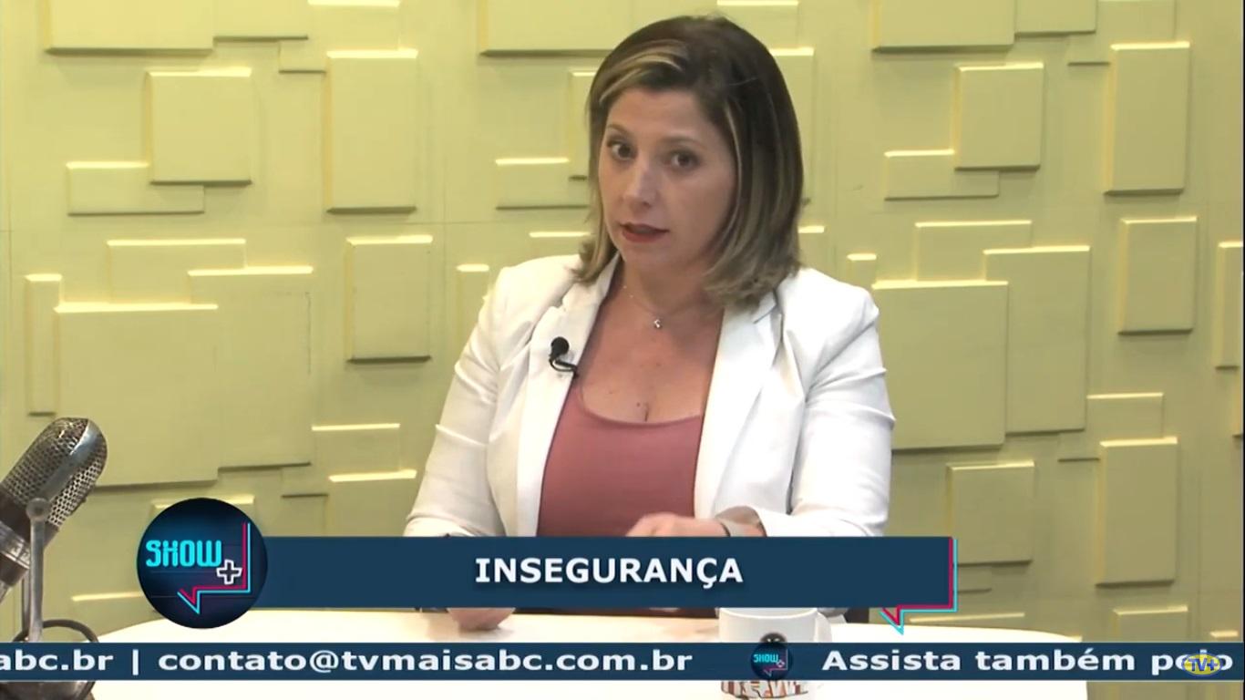 Gisa Azeredo no Show+, da TV+ ABC