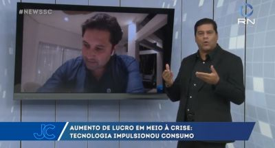 Paulo Chabbouh, da L5 Networks, na Record News